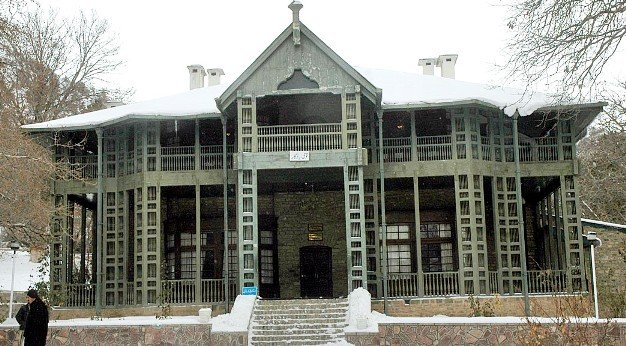 a photo showing jinnah 039 s residence in ziarat in its former glory photo app