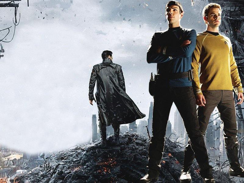 star trek into darkness is a long long way from a disaster but it belongs in the darkness where no one can see it