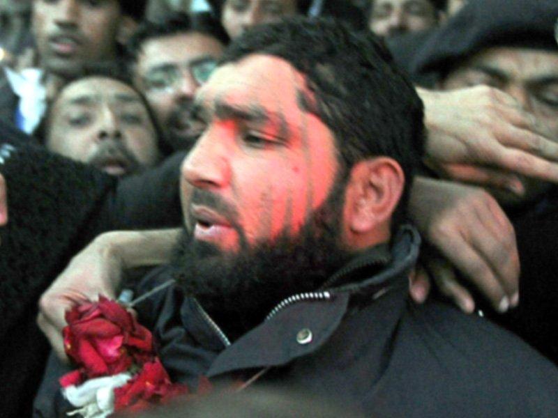 Malik Mumtaz Qadri. PHOTO: AFP/FILE