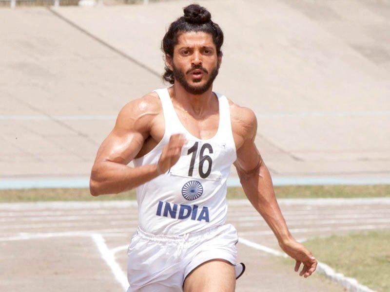 bhaag milkha bhaag features farhan akhtar as former athlete milkha singh photo file
