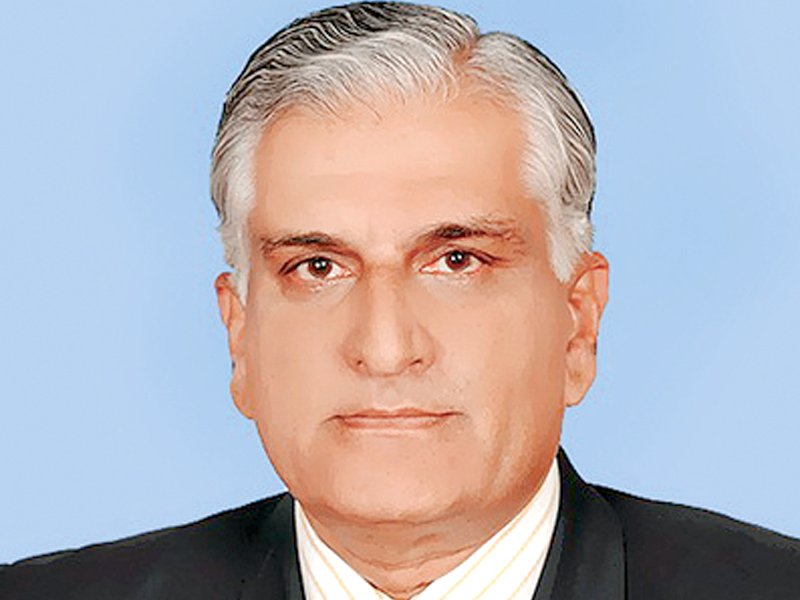 former law and justice minister zahid hamid has been reassigned to the science and technology ministry photo file