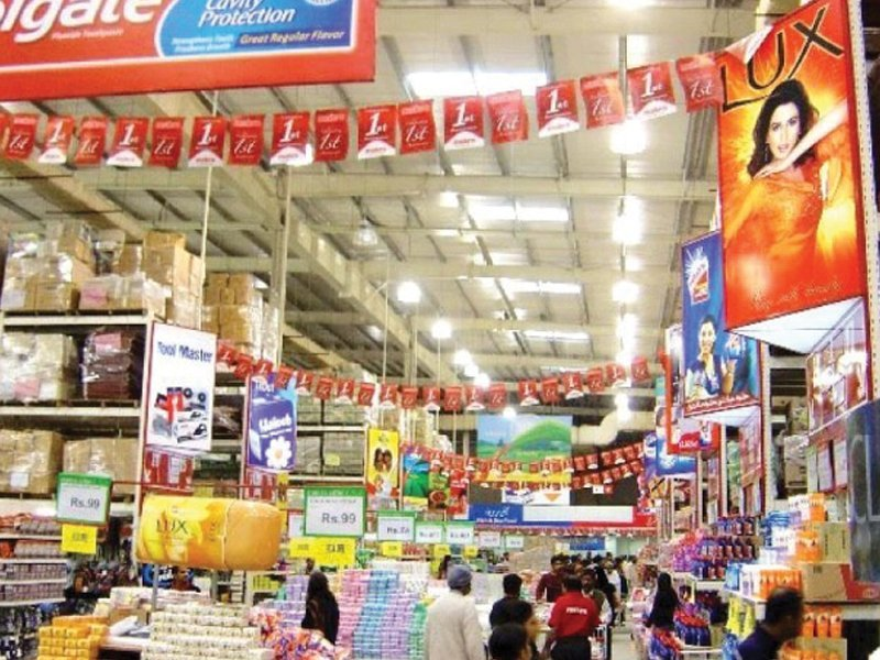 this rise in consumer demand has spurred the growth of supermarkets across major urban centres photo file