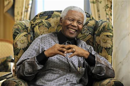 former president of south africa nelson mandela photo reuters dylan martinez