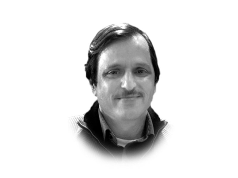 the writer is director current affairs express news and has previously worked with ary news he is a former secretary general of the pakistan federal union of journalists