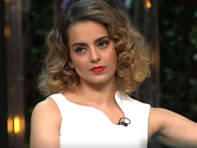 Kangana Ranaut once again challenges the culture and breaks the norm in seven minutes and 15 seconds. PHOTO: SCREENSHOT