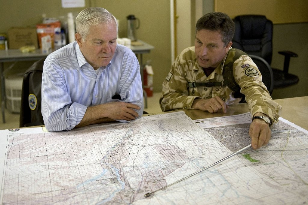 west should have talked to taliban british general