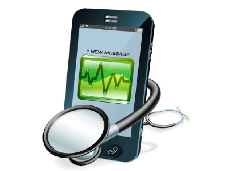 E-cardiology at the Indus Hospital uses text and multimedia messages to transfer information.