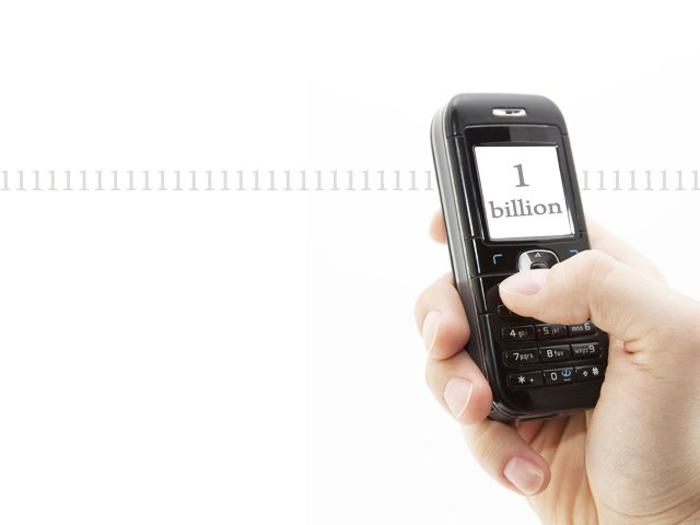 pakistanis are amongst the highest sms users in the world photo express file