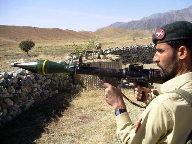 A file photo of Pakistani soldiers. PHOTO: fILE