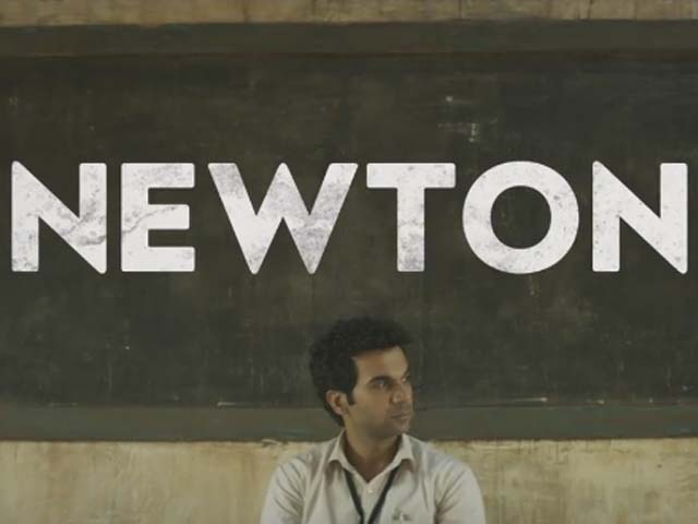 Through the character of Newton the director shows that even though you may be a simple clerk, but if you perform your duties with diligence and determination then you too can make a difference. PHOTO: SCREENSHOT