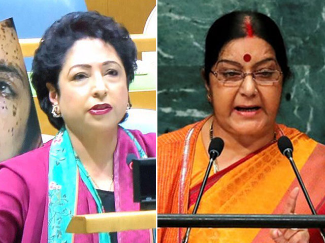 the unga proved that pakistan and india can never rise above name calling