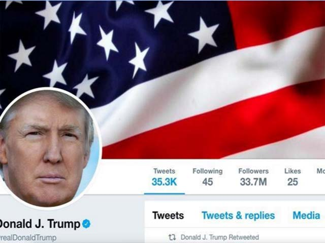 president donald trump 039 s twitter account as seen on july 11 2017 photo reuters