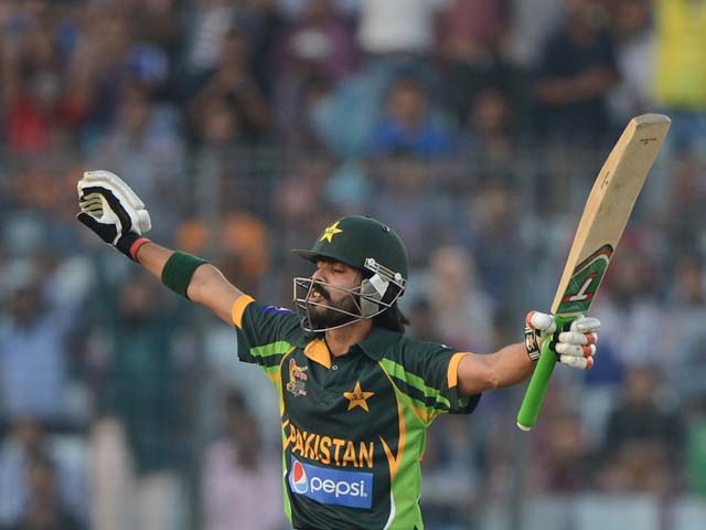 a blissful fawad alam after his maiden odi hundred pakistan v sri lanka asia cup final mirpur march 8 2014 photo afp
