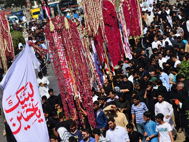 when we re told to limit ourselves to the imambargah or shift these processions outside the city