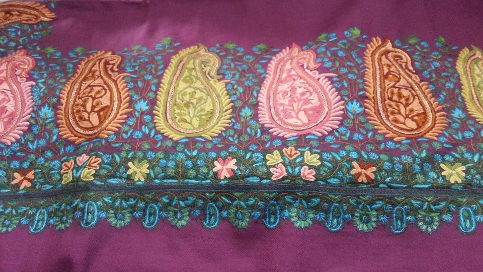 shopkeepers and customers and the demand for kashmiri embroidery has risen exponentially photo kashmiri embroidery facebook page