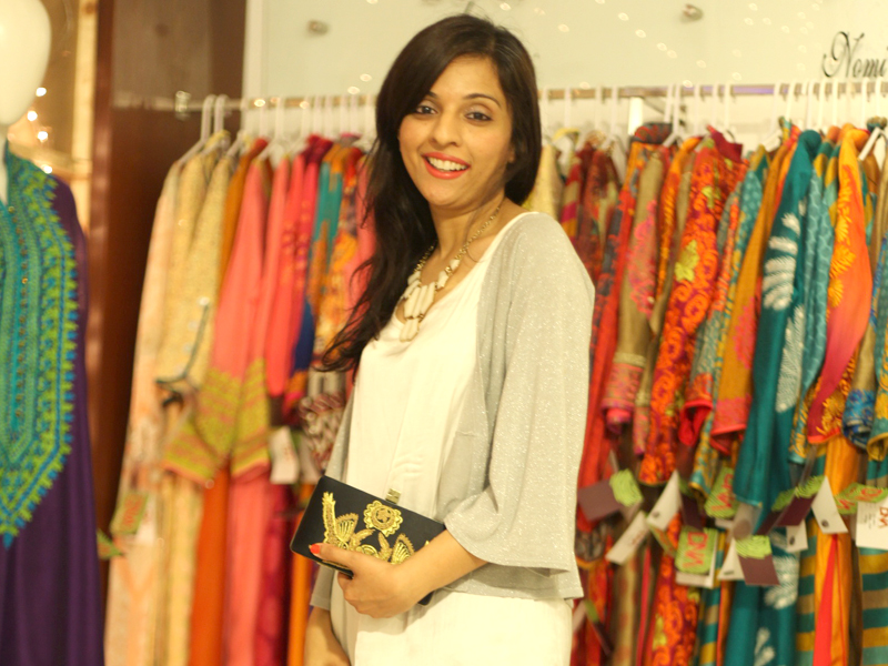 accessories designer mahin hussain was spotted at the ensemble eid extravaganza looking super stylish and chic