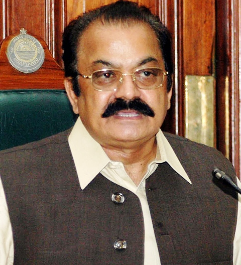 rana sanaullah khan said the committee s deliberations would continue till the eid holidays photo ppi file