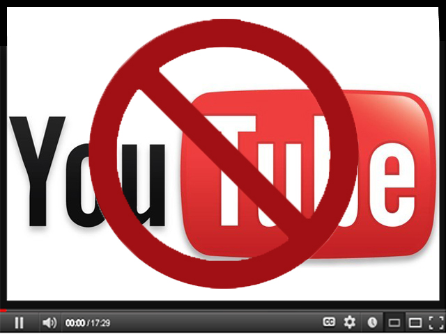 youtube was blocked in september 2012 by former prime minister raja pervez ashra photo file