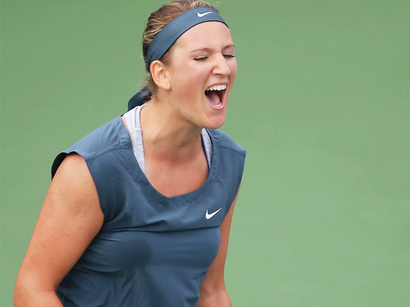 after withdrawing from wimbledon due to injury azarenka is looking to make a strong comeback at the us open photo afp