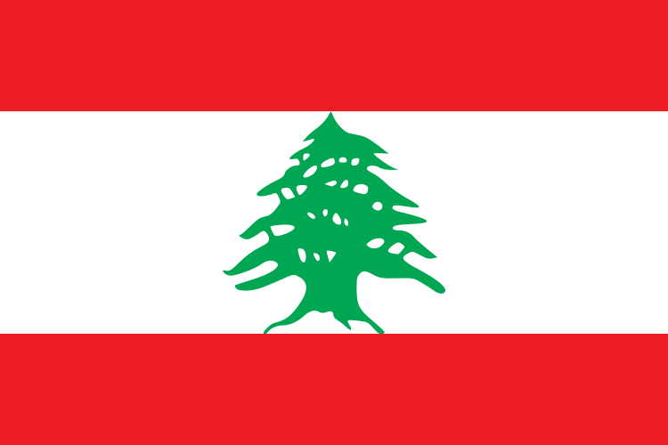 flag of lebanon photo wikipedia
