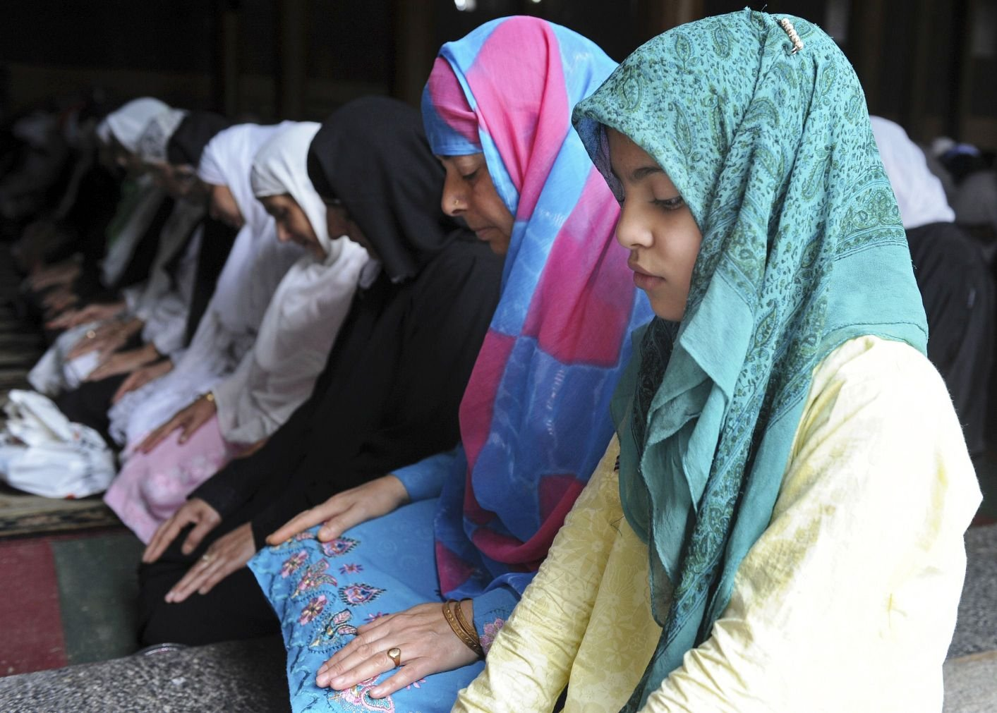 the rug looks like other praying mat but it is designed with special cushioning photo afp file