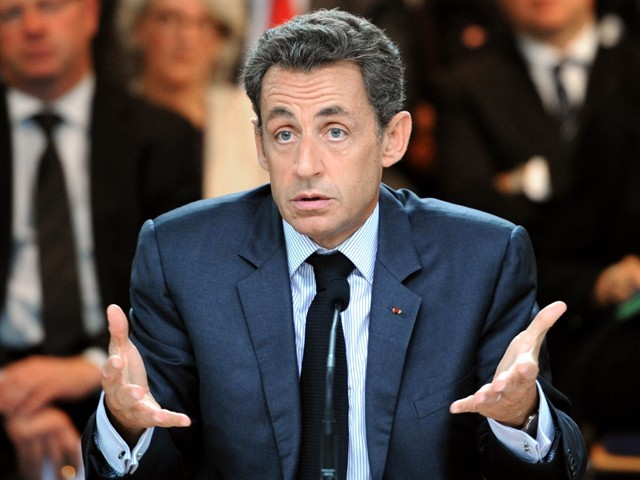 former french president nicolas sarkozy who was a cabinet minister and then prime minister balladur 039 s spokesman at the time is linked to the affair photo file