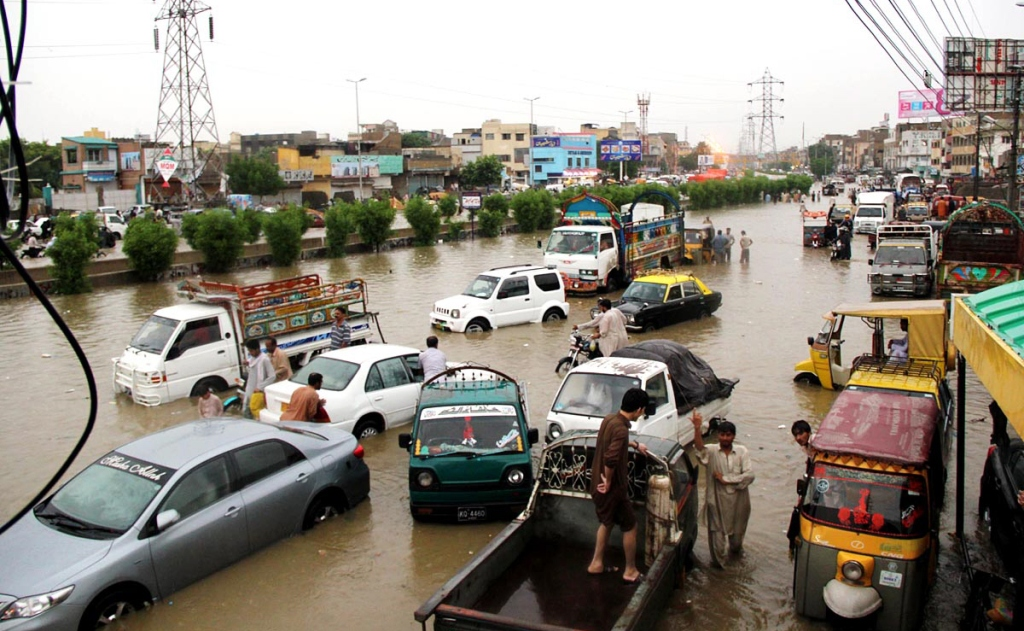 rain in karachi causes flooding photo online