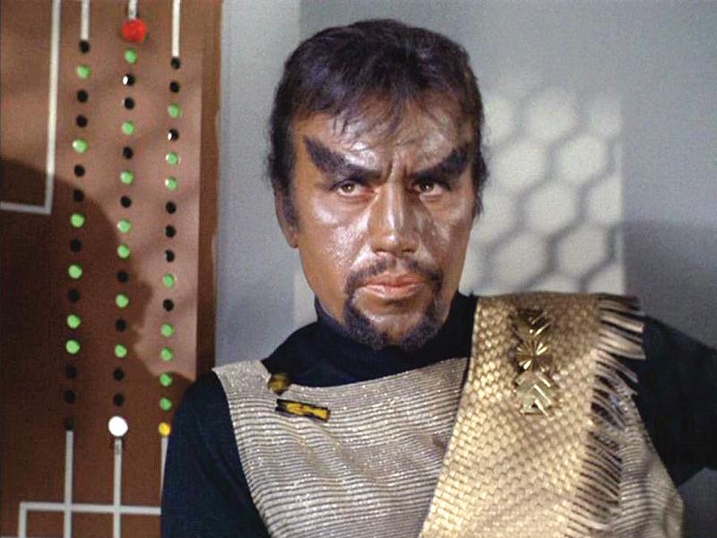 the famous villain of the original star trek tv series dies after a prolonged illness photo file