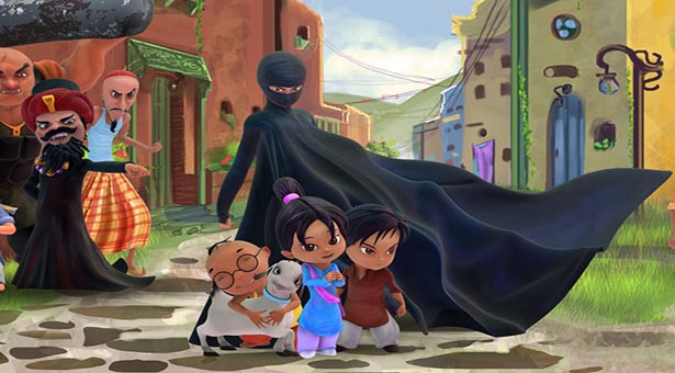 burka avenger photo publicity