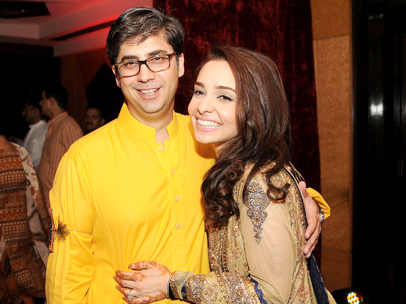 tv show host juggan kazim is happy that her son has found a loving father