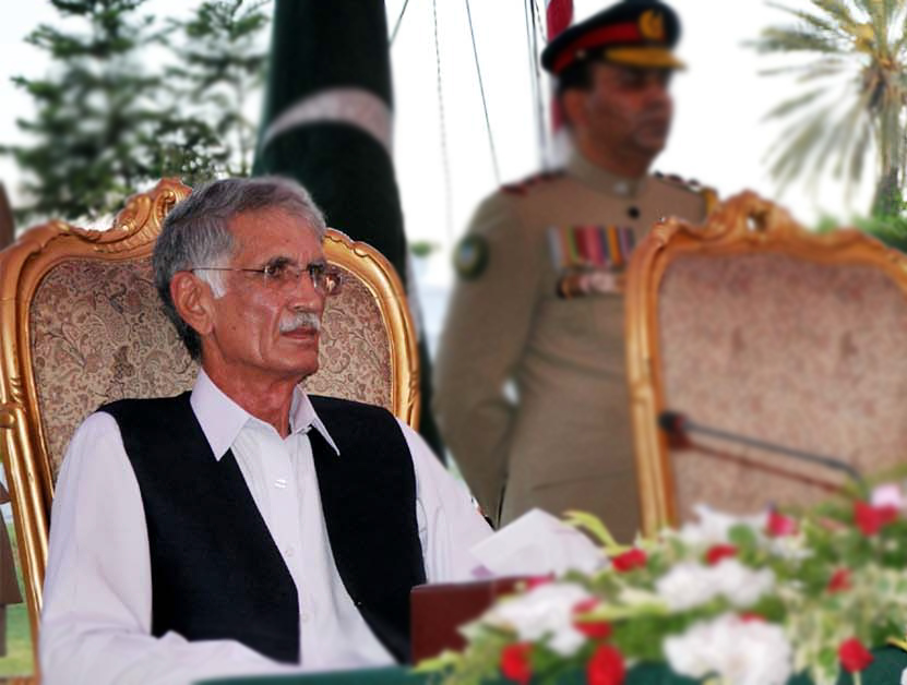 Khyber-Pakhtunkhwa Chief Minister Pervez Khattak. PHOTO: Express
