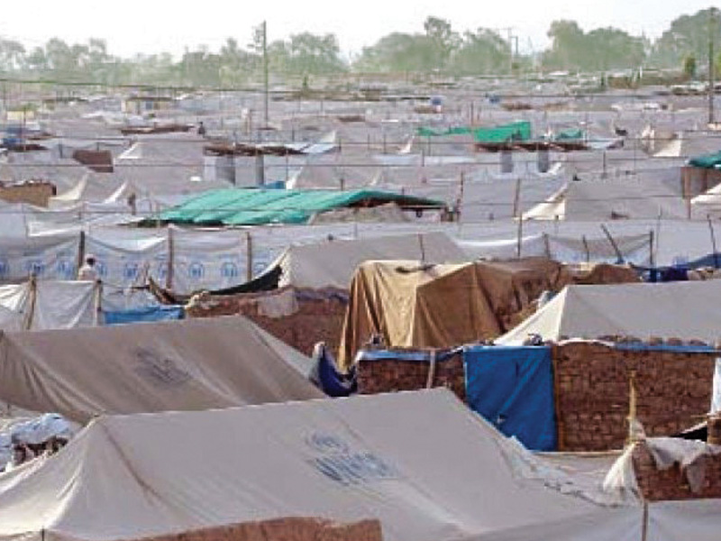 a camp administration official claimed uae had donated 30 000 packages of food for idps photo file
