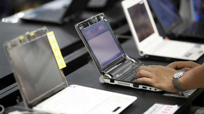 the assembling plant will also help facilitate the distribution of laptops to deserving students photo reuters file