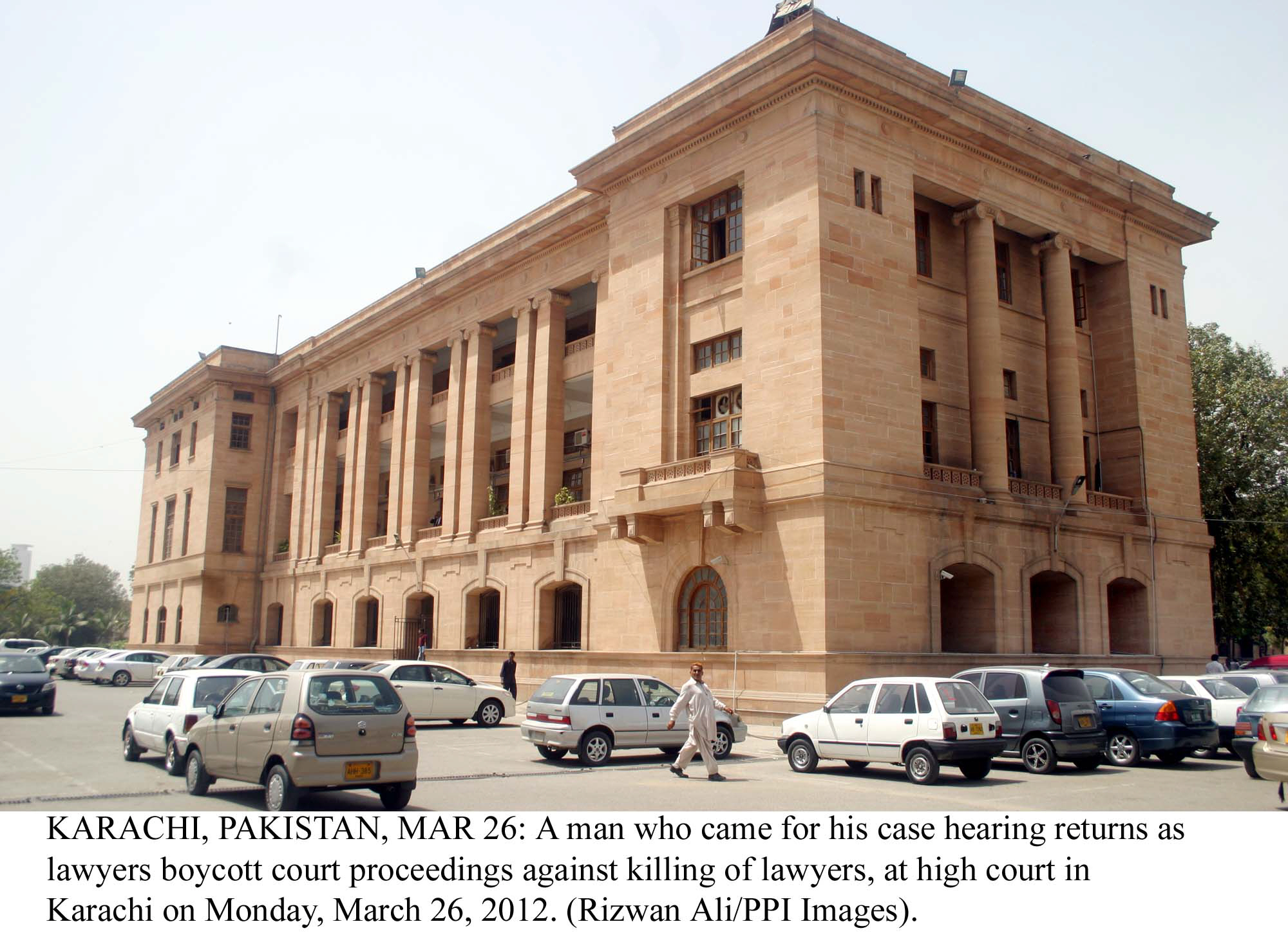 a sub inspector of the crime investigation department chaudhry arif hussain had gone to court challenging a standing order passed by the sindh police chief he had also cited the provincial chief secretary and the secretaries of home services and general administration departments and the sindh igp as respondents photo file