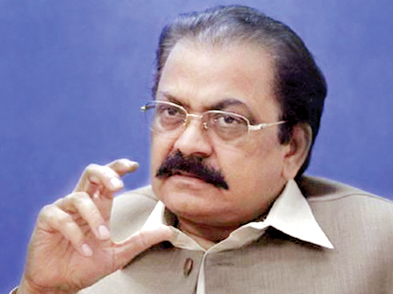 local government minister rana sanaullah khan said that the government would aim to pass the bill before august 15 photo file