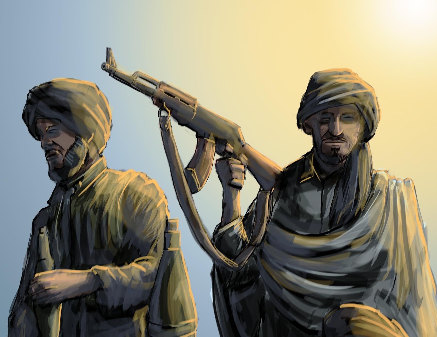 this is the second time the taliban has denied its involvement in the loc clash illustration jamal khurshid file