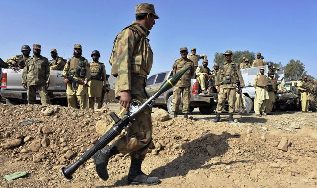 pakistani forces kill 8 rebels linked to attacks photo afp file