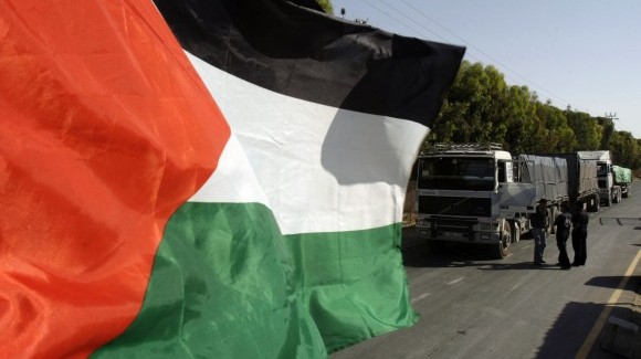 israeli troops shot a palestinian dead on the border with gaza on saturday night photo reuters