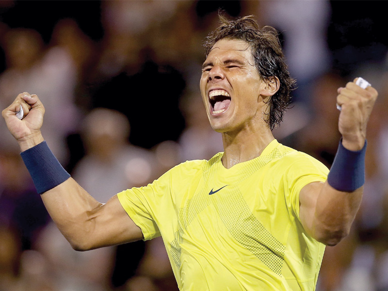 nadal s two hour 20 minute struggle with djokovic was a tight affair with small margins determining victory photo afp