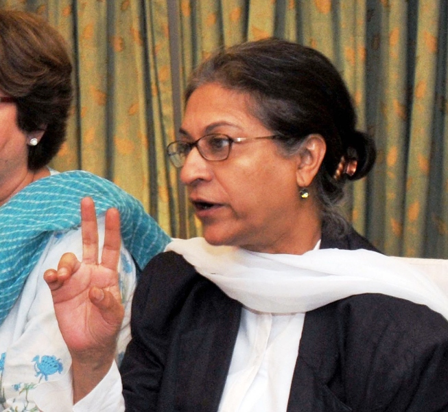 asma jehangir human rights activist photo express file