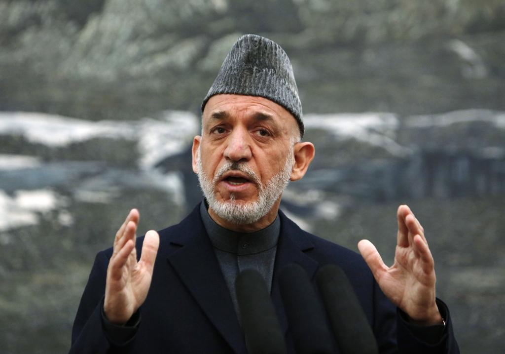 afghan president hamid karzai photo reuters file