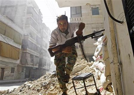 a free syrian army fighter photo reuters file