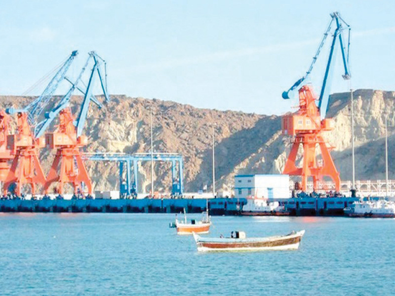 gwadar port stretches across a larger economic corridor from balochistan to china linking it to the arabian sea photo file