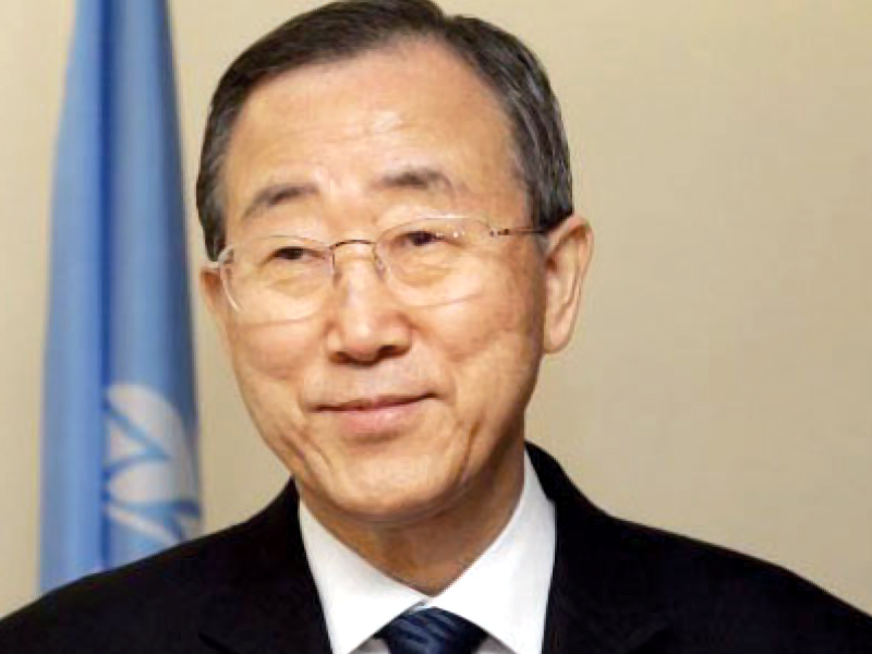 un secretary general ban ki moon photo file