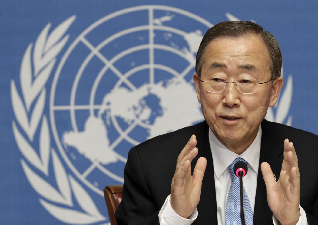united nations un secretary general ban ki moon photo reuters file