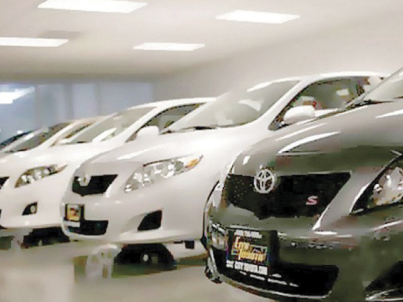 sales of indus motor company declined 32 in july 2013 the most amongst its peers photo file