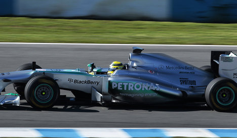 mercedes have emerged as title contenders in this year s campaign even with just one title from three seasons photo afp