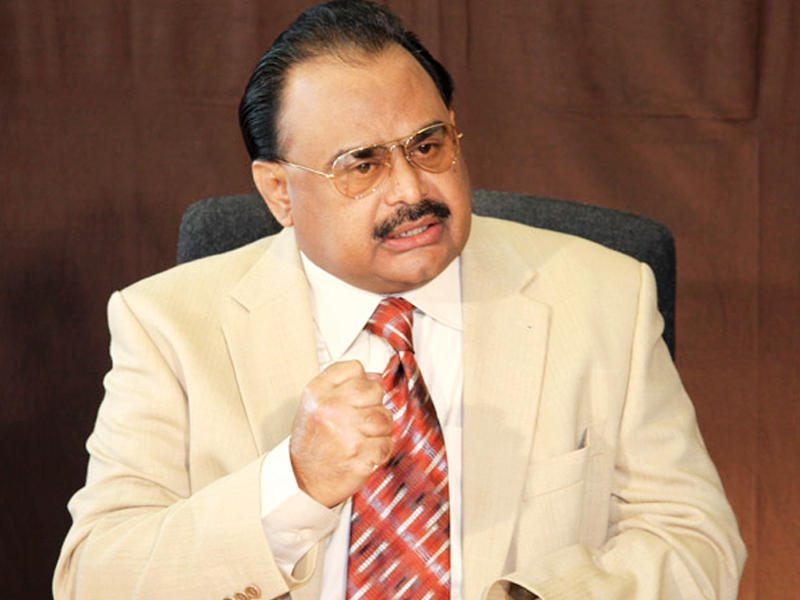 sometimes a leader struggling for the rights of oppressed people and following his mission is imprisoned in his own city thus being compelled to stay physically away from his people an mqm statement quoted party chief altaf hussain as saying photo app file