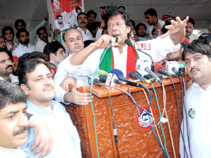 august 22 by polls imran campaigns for na 1