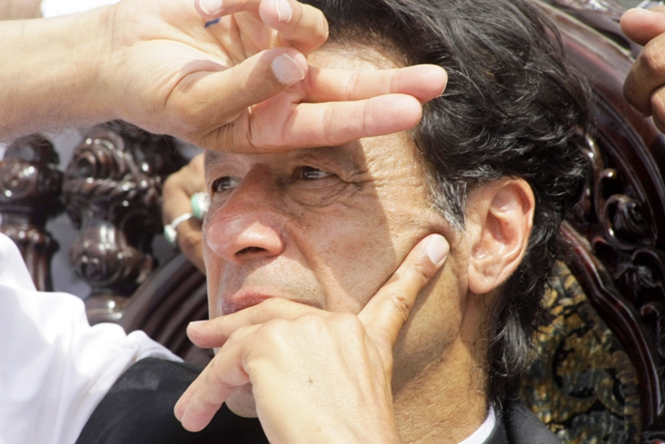 pti chairman imran khan photo afp file